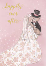 Wedding Card Happily Ever After Teddies
