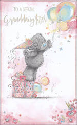 Grandaughter Birthday Card Me To You Tatty Teddy