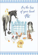 Sympathy Card Loss of Pet