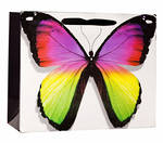 Large Gift Bag Female Premium Butterfly Foil