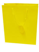 Small Gift Bag Solid Colour Yellow