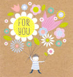 Mini Card For You Floral Bouquet