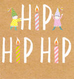 Mini Card Hip Hip Hip