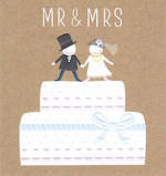 Mini Card Pip And Me Wedding Mr And Mrs