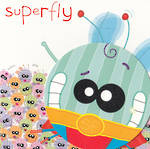 Kids' Birthday Card: Doolallys Superfly