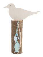 Seagull & Shell Decoration 27cm