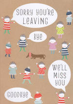 Jumbo Card Pip & Me Sorry You're Leaving