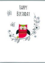 Gumdrops Birthday Owl