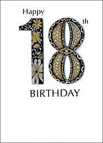 Birthday Age Card 18 General Just A Number