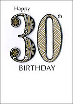 Birthday Age Card 30 General Just A Number