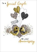 Anniversary Card Your Irresistible Gold