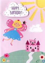 Kids Birthday Card Yours Truly Fairy