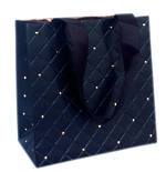 Small Gift Bag General Quilted Ebony