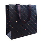 Medium Gift Bag General Quilted Ebony