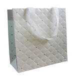 Medium Gift Bag General Quilted Pearl