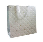 Large Gift Bag General Quilted Pearl