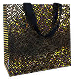 Large Gift Bag General Black Shimmer