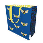 Small Gift Bag Beehive Blue