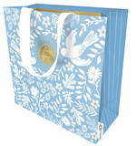 Large Gift Bag Isabella Teal