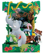 Santoro Swing Cards Jungle Animals