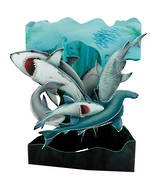 Santoro Swing Cards Sharks