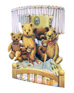 Santoro Swing Cards Teddies