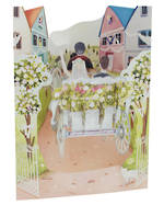 Santoro Swing Cards Wedding Carriage
