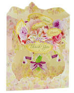 Santoro Swing Cards Floral Thank You