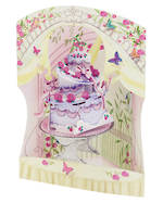 Santoro Swing Cards Celebration Cake