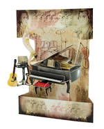 Santoro Swing Cards Piano & Music