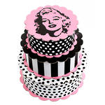Marilyn Set of 3 Scalloped Boxes