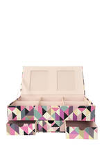 Storage Box Night Floral Keepsake