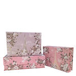 Eufloria Set of 3 Paper Tab Boxes