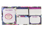 Tri-Coastal Floral Park Sticky Note Set