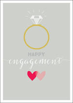 Engagement Card Ink Happy