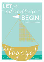 Bon Voyage Card Ink Adventure