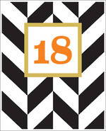 Birthday Age Card 18 Male Sasparilla