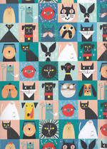 Sheet Wrap Toasted Cats & Dogs