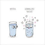 Saskdraws: Sparkling Water