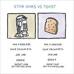 Wrong Hands: Starwars vs Toast