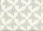 Sheet Wrap Butterfly On Ivory