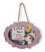 Verity Rose Plaque Love You
