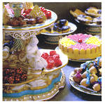 Blank Card General National Trust Square Sweet Treats