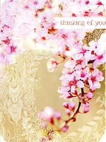 Thinking of You Card: Woodmansterne