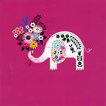 Blank Card: Jennifer Wren - Elephant