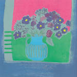 Blank Card General Jennifer Wren Rhapsody Blue