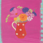 Blank Card General Jennifer Wren Pretty in Pink