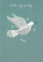 Sympathy Card Dove In Mind