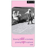 Magnetic Bookmark M.I.L.K. Growing Old
