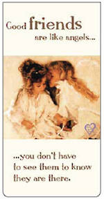 Magnetic Bookmark Two Angels